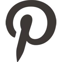 Logo réseau social Pinterest