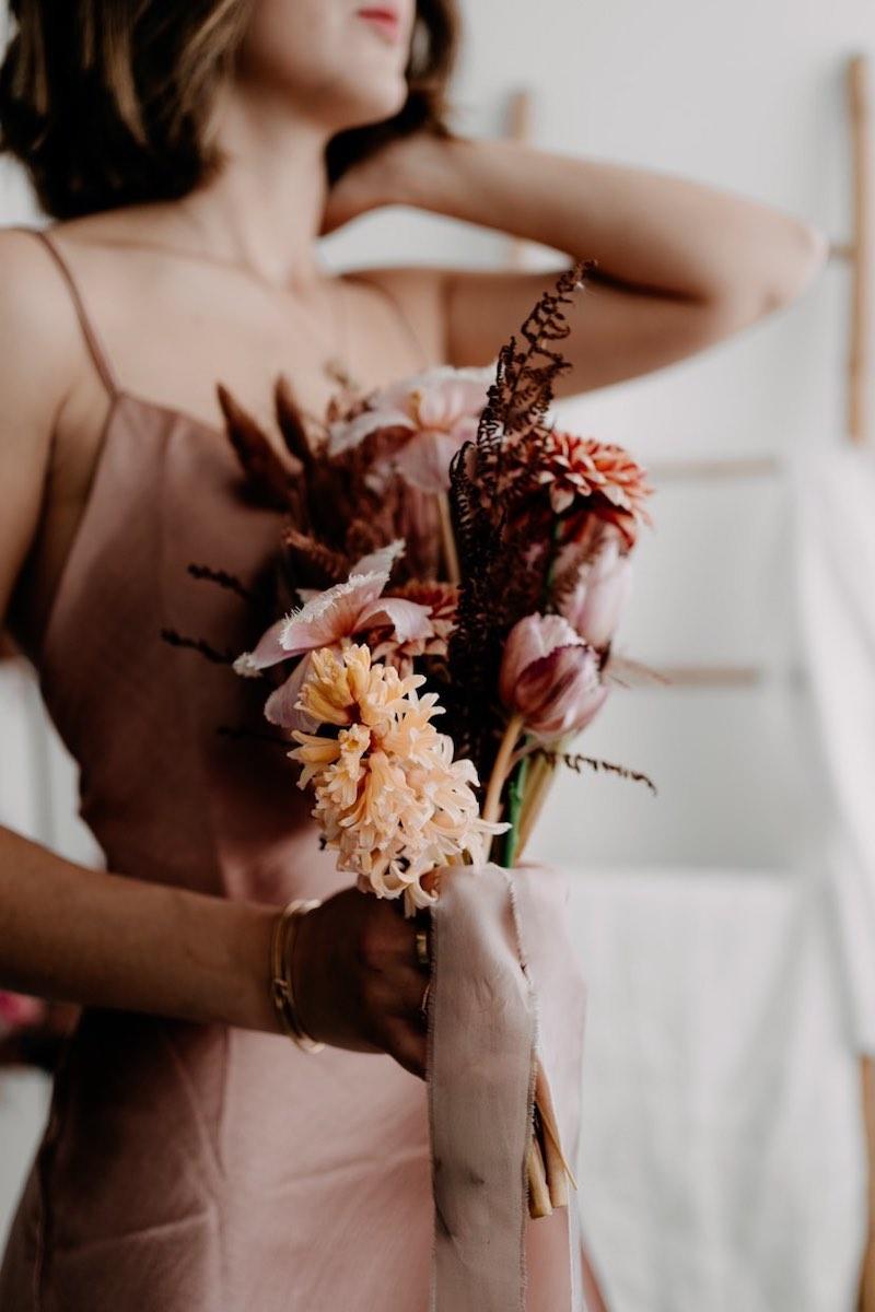 Bouquet de fleurs de printemps par Botanique Bazar