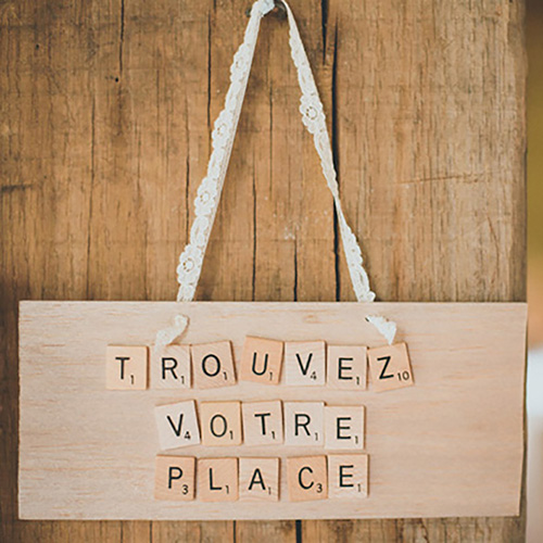 Marque-places ecofriendly