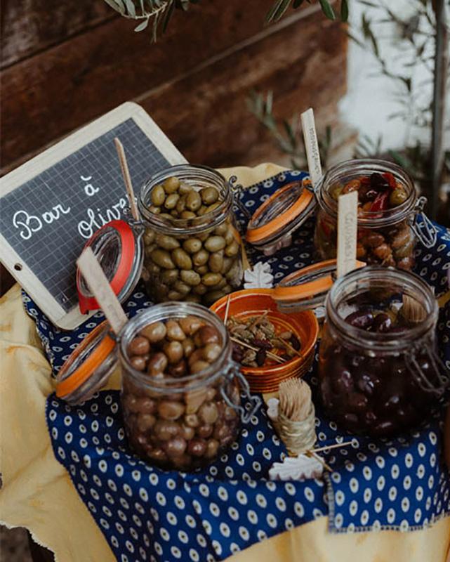 Bar à olives