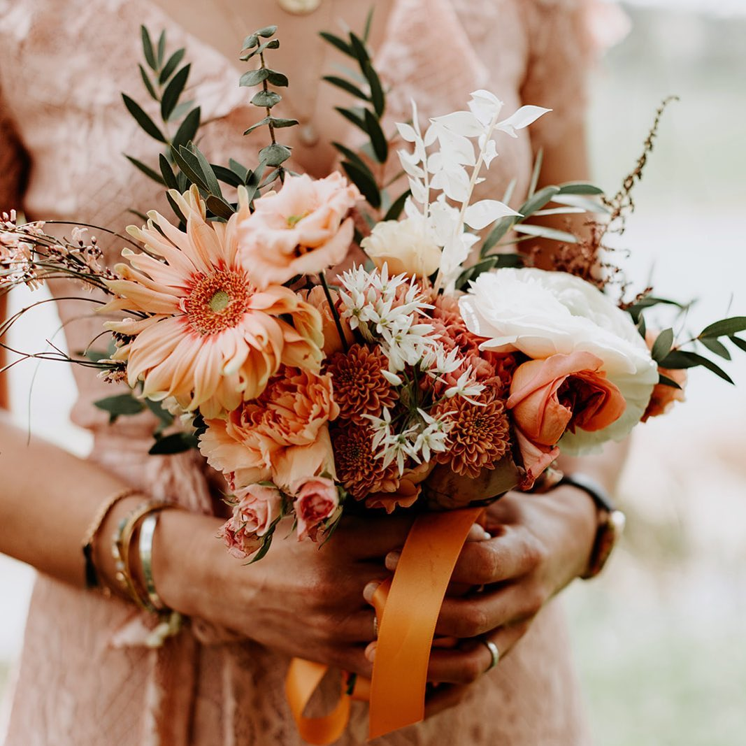 Bouquet de mariage d'été