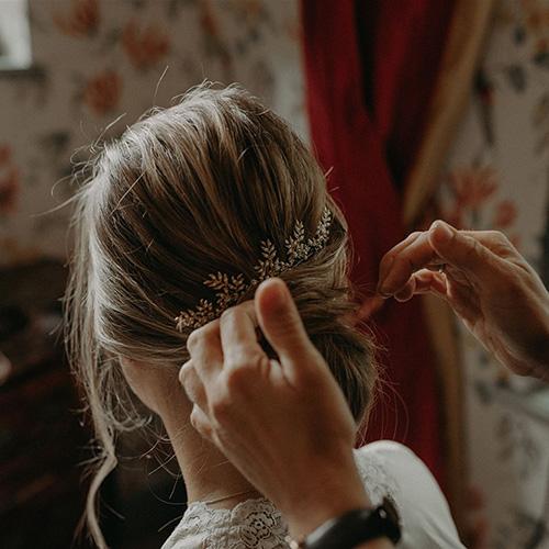 Préparer ses cheveux pour son mariage