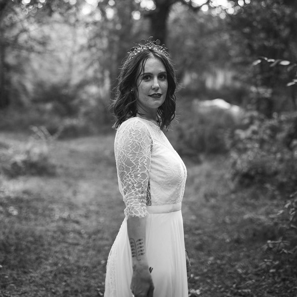 Ophélia Plasse, fondatrice du blog mariage La Sève