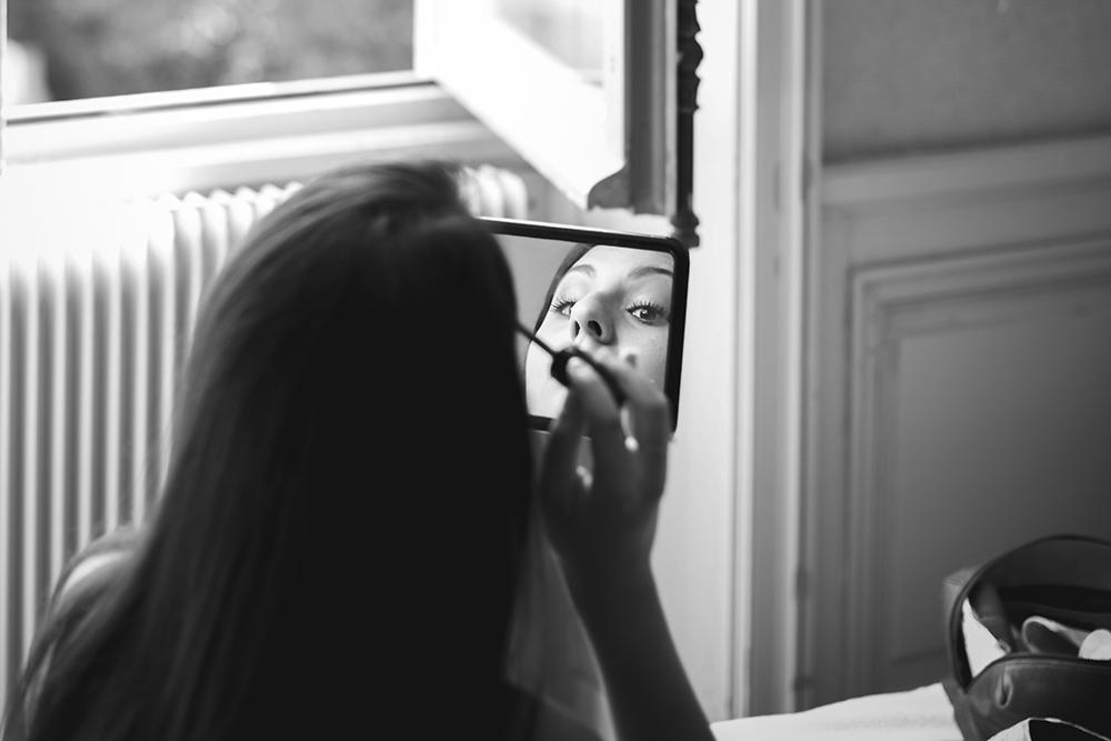 Maquillage mariée naturel