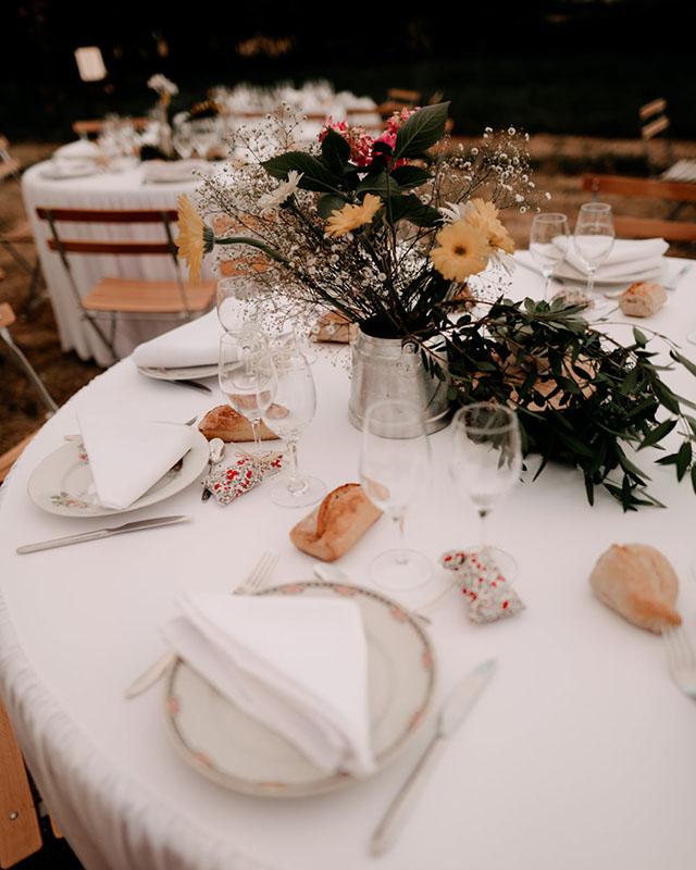 Table mariage Liberty