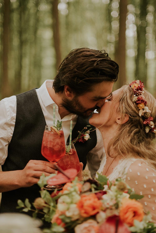 Le cocktail des mariés