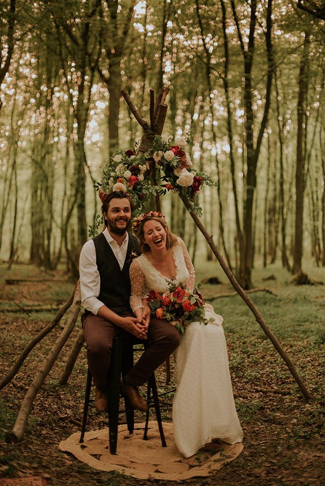 Cérémonie de mariage en extérieur