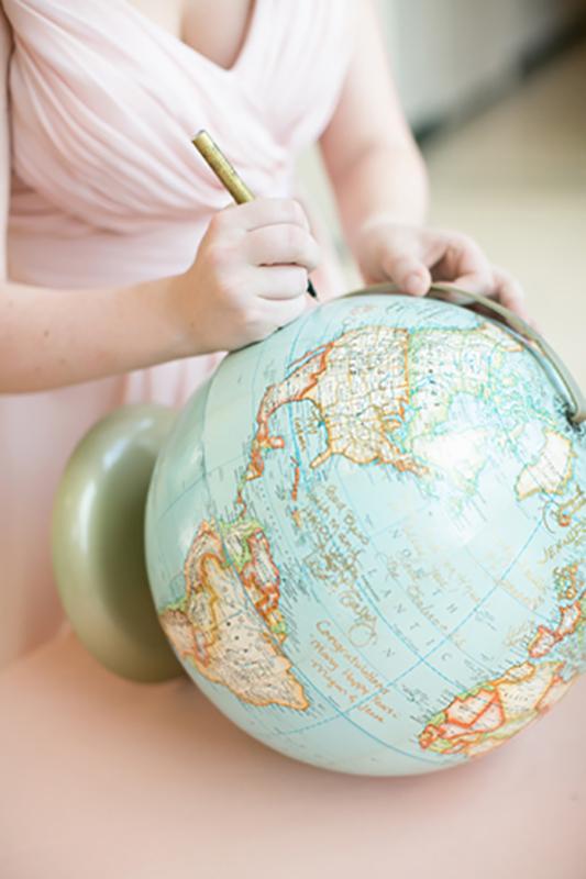Livre d'or globe