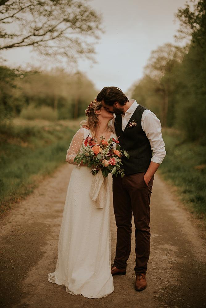 Mariage dans le Nord près de Mobecque