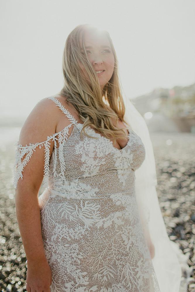 Robe bohème pour mariage sur le plage
