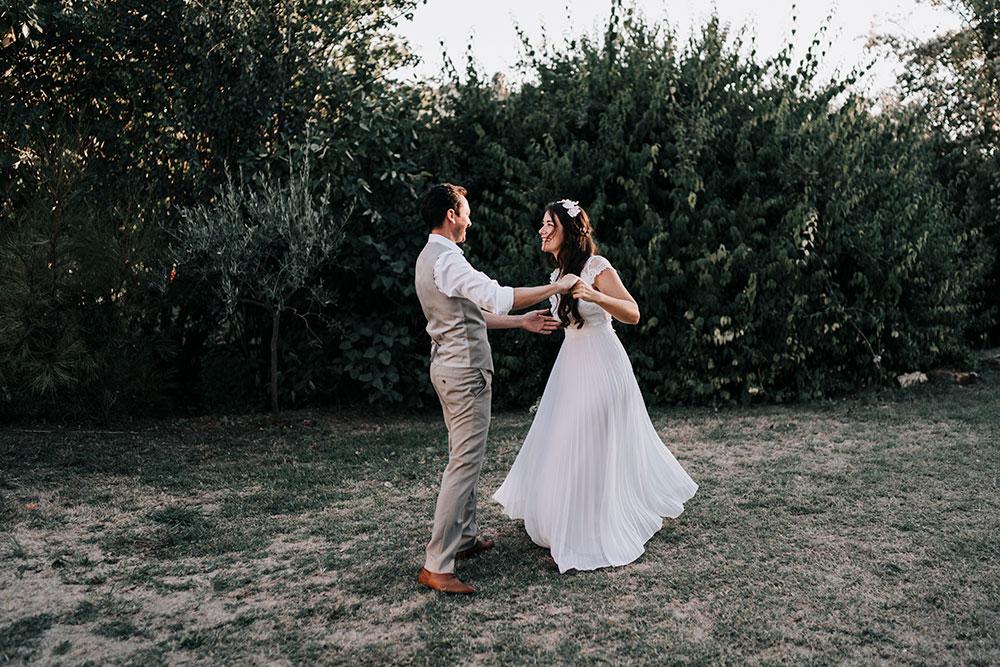 Le mariage eco responsable de Justine Porcelaine